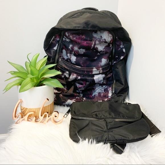 ✨rare✨ Lululemon All Day backpack in Kara Blossom